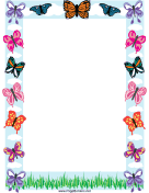 Butterfly Border