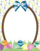 Easter Basket Border
