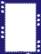 Fourth of July Sparkler Border