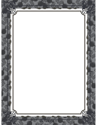 Gray Halloween Border
