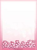 Heart Bubbles Border