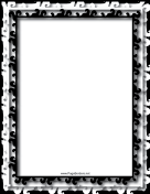 Multilayer Black and White Border