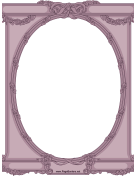 Ornate Oval Border