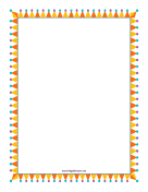 Party Hat Border