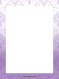 Purple Abstract Border