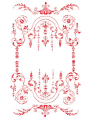 Victorian Red Border
