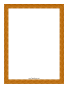 Wood Grain Border