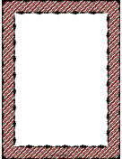 Zigzag Red White Green Border