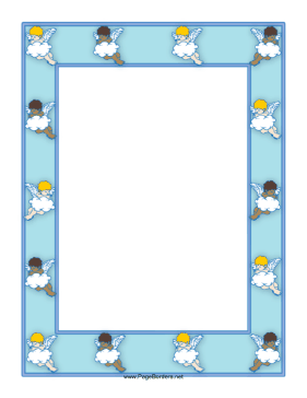 Angel Border page border