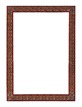 Braided Border page border