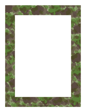 Camouflage Border page border