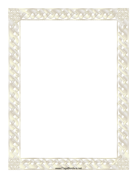 Wonderful Certificate Border Page Border