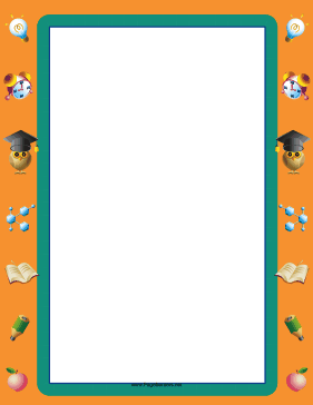 Creative Thinking Border page border