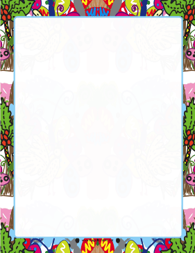 Hand-Drawn Border page border