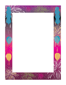 Party Border page border
