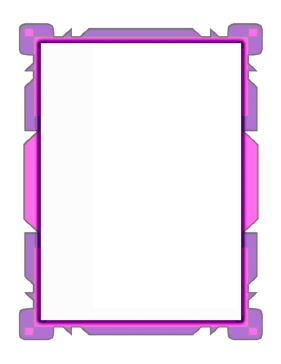 Pink Flowpoint Border page border