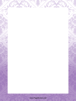 Purple Abstract Border page border
