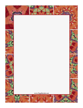 Quilt Border page border