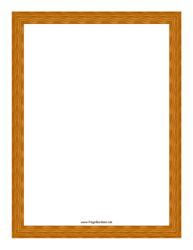 Wood Grain Border page border