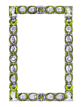 Wreaths Border page border