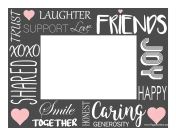 Friendship Border Horizontal page border