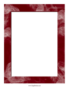 Red Smoke Border page border